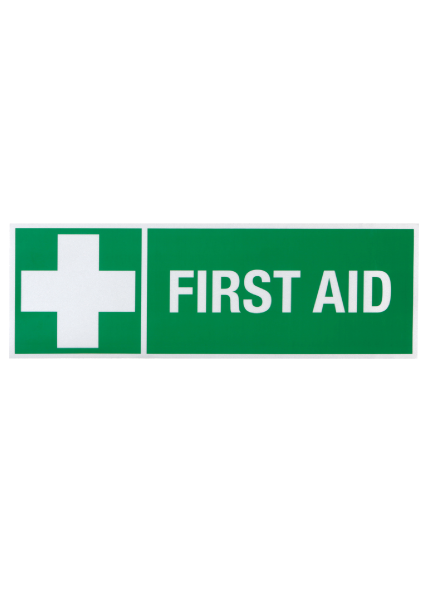 First Aid and Cross Reflective Sticker