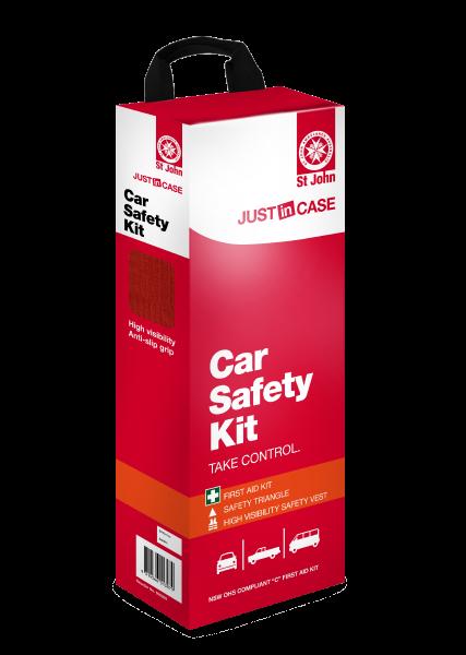 St John Car Safety First Aid Kit