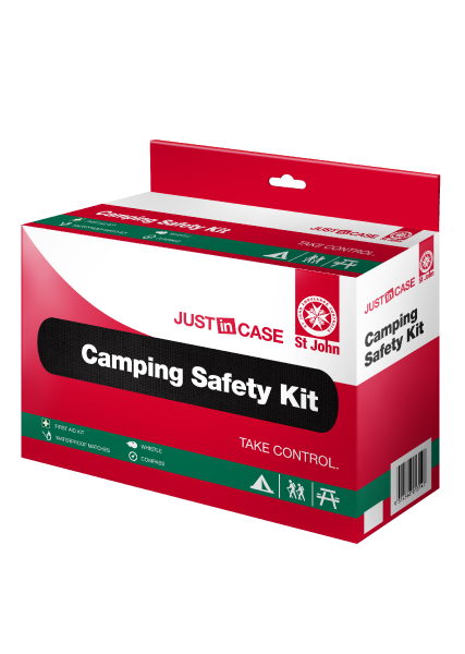 St John Camping Safety First Aid Kit