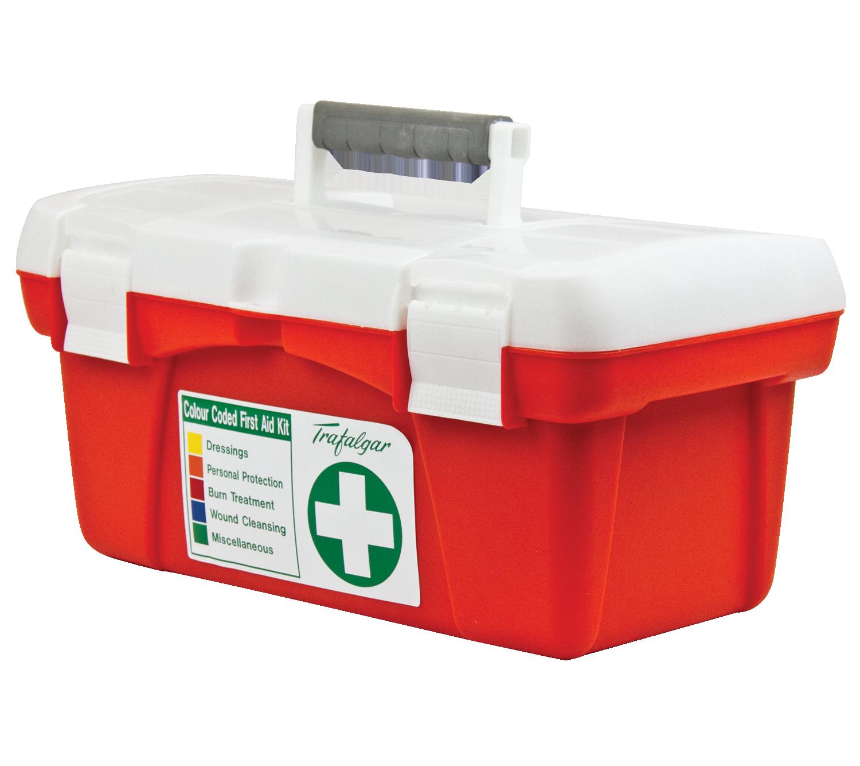 Trafalgar National First Aid Kit Portable Poly Case