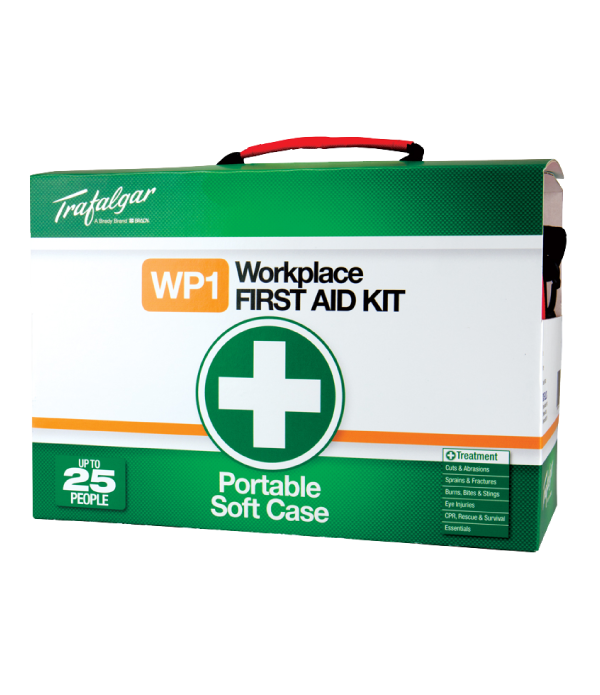 WP1 Workplace First Aid Kit - Soft Case