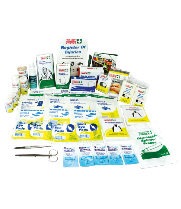 WR1 Workplace First Aid Kit - Refill Content Only