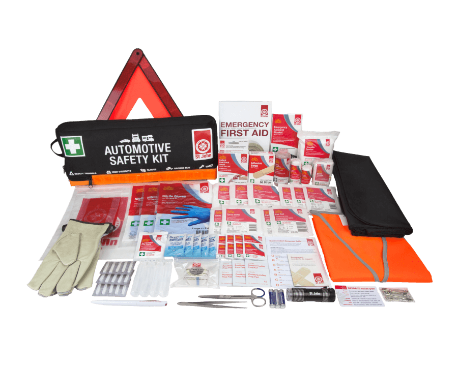 St John Automotive Safety First Aid Kit