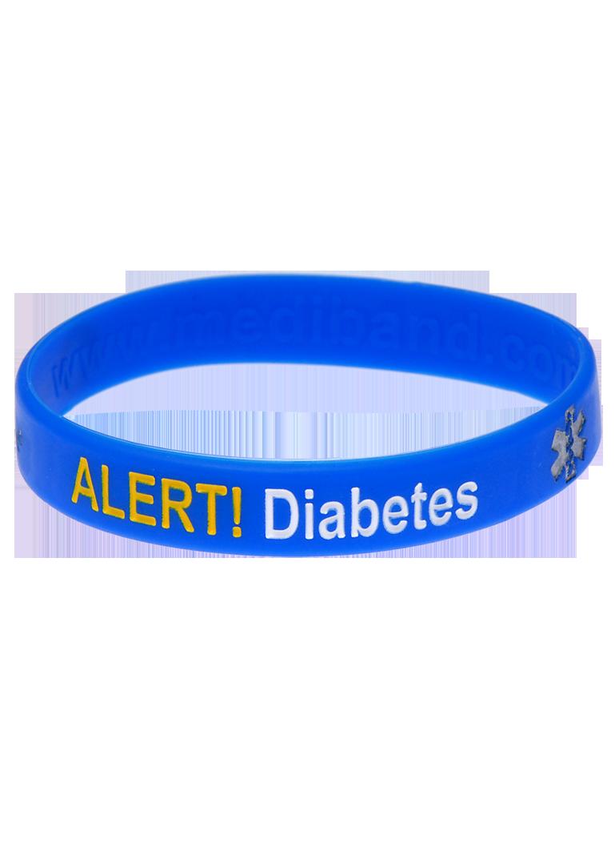 非胰岛素依赖糖尿病医疗身份证手环