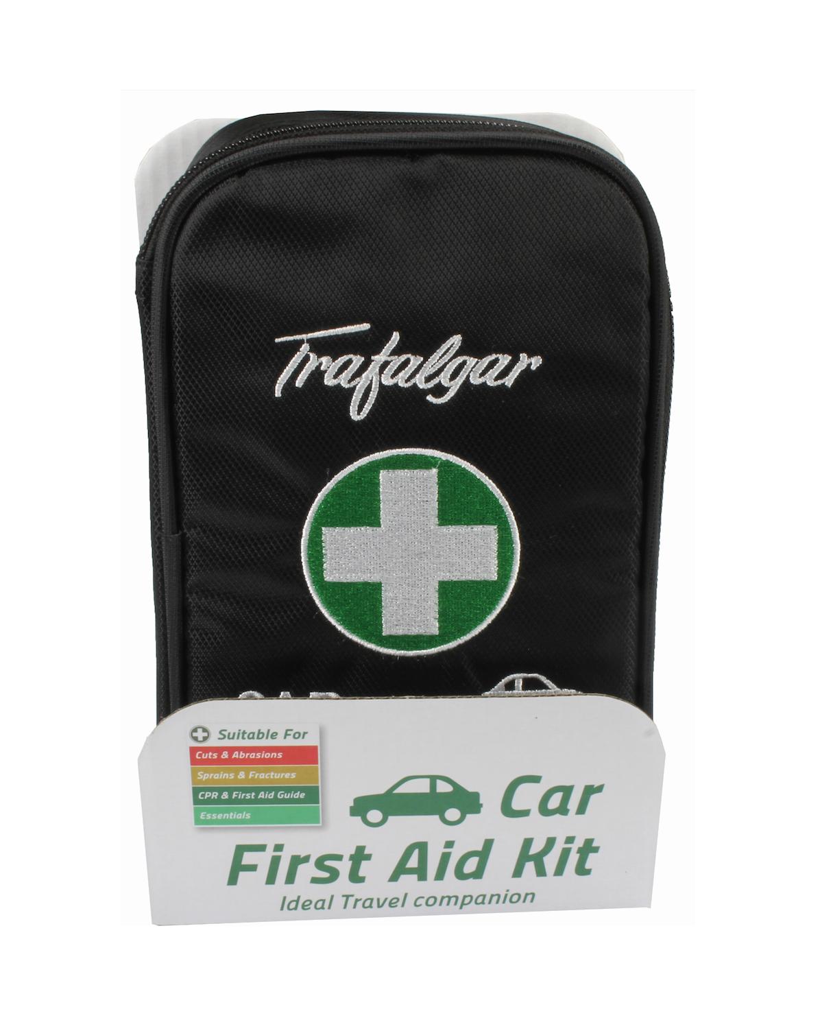 Trafalgar Car First Aid Kit Black