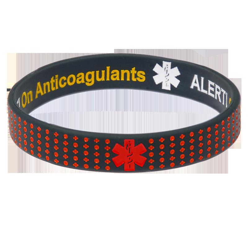 On Anticoagulants - Reversible Design Medical Bracelet