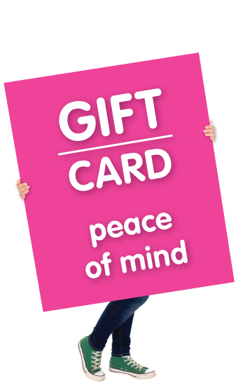 Gift Card, Peace Of Mind
