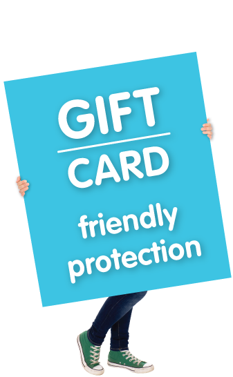 Gift Card, Friendly Protection