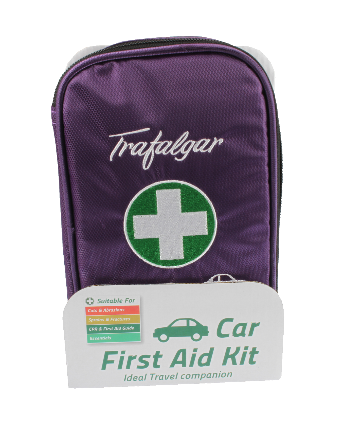 Trafalgar Car First Aid Kit Purple