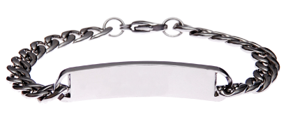 Stainless Steel Slim Bracelet