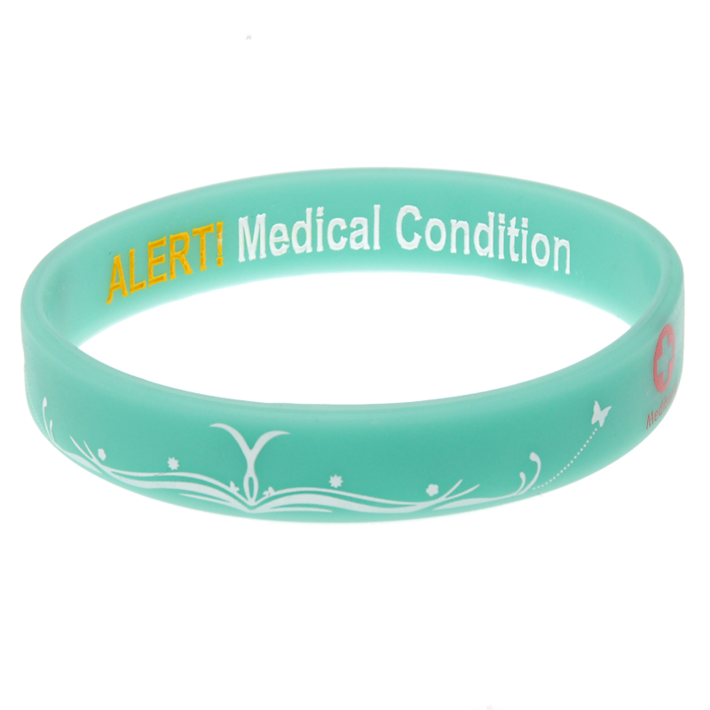 Butterfly - Reversible Write On Medical Bracelet