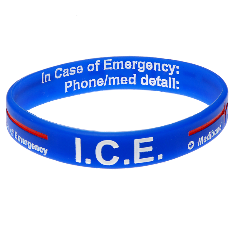 ICE - Reversible Write On Medical Bracelet